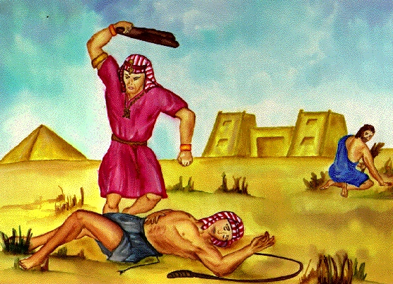 Moses Killing an Egyptian
