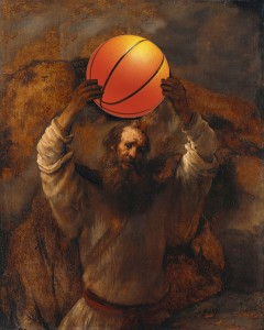 Moses with BBALL