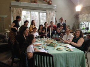 Passover Parody filming