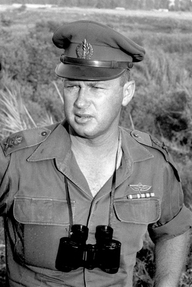 Yitzhak Rabin Army Israel Northern Command War