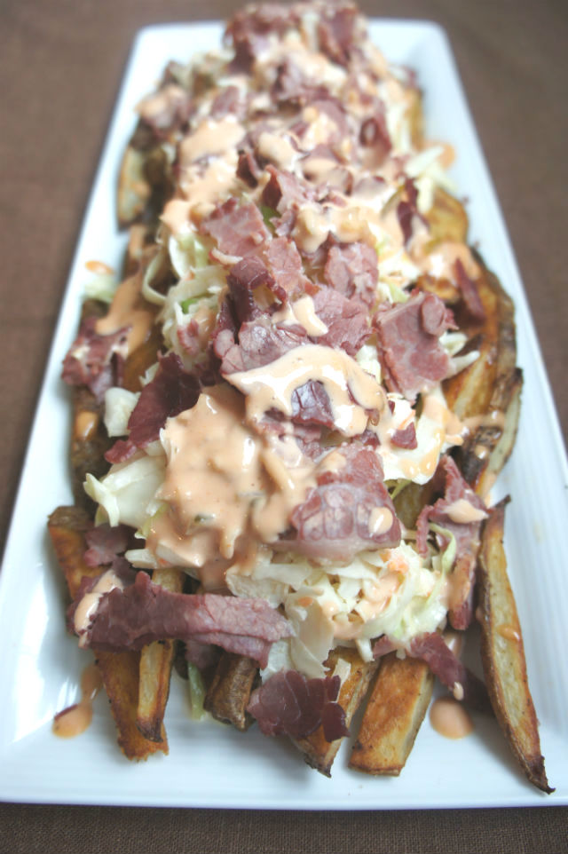 Reuben French Fries