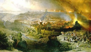 siege and destruction of Jerusalem
