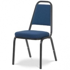 Stack Chair with Cushioned Box Seat with 100pct Olefin Fabric Upholstery_thumbProduct