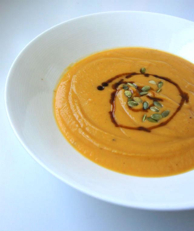 Sweet 'n Spicy Sweet Potato Soup