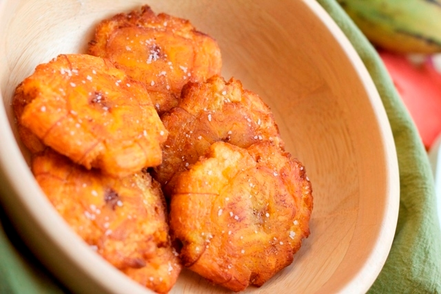 Tostones for Hanukkah