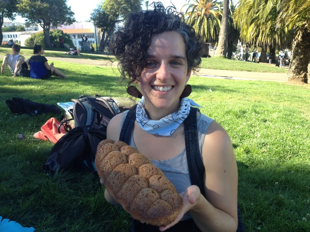 Vered with gluten free challah