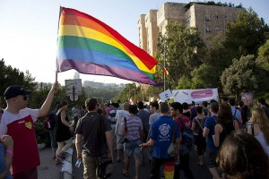 Jerusalem Gay Pride. Wiki Commons/Guy Yitzhaki