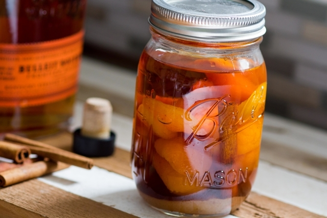 Apricot-Infused Bourbon for Purim and Beyond