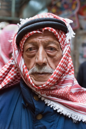 Arab man living in Israel