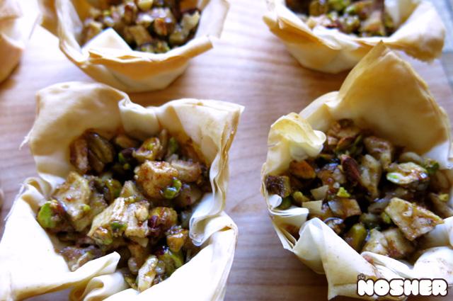 baklava-tarts