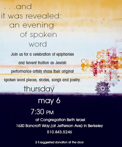 berkeley jewish spoken word