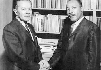 Rabbi Max Nussbaum and Dr. Martin Luther King Jr.