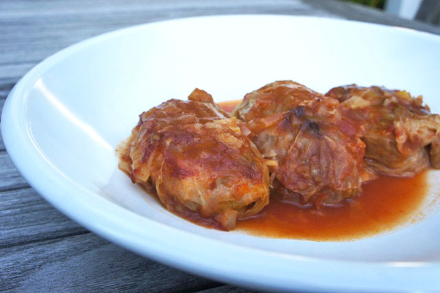 Brisket-Stuffed Cabbage