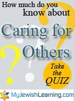 caring for others quiz