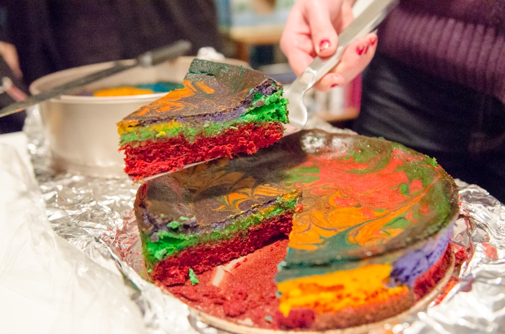 Bringing a Rainbow (Cheesecake) to the Holiday Table | My ...