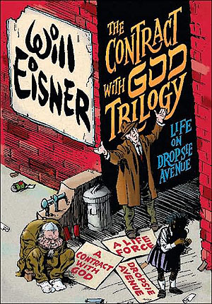 a contract with god, jewish comic bookss
