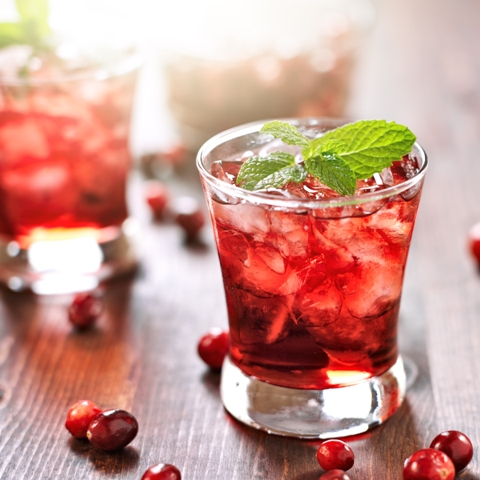 cranberry moscato punch