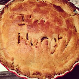 cauiflower curry pie