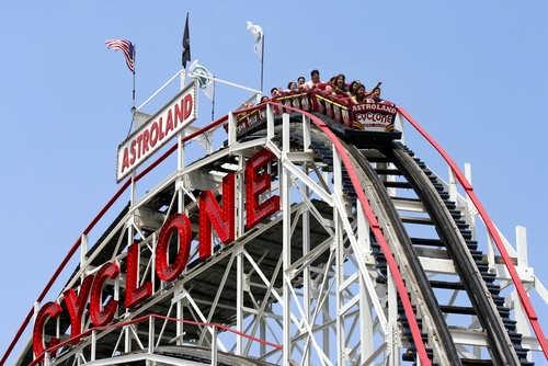 famous cyclone coney island