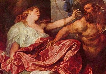 Samson and Delilah, by Anthony van Dyck (1599-1641)