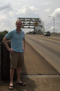 Dan Ring at the Edmund Pettus Bridge