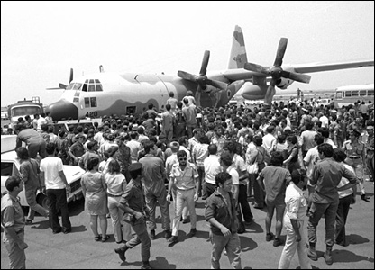 Operation Entebbe raid