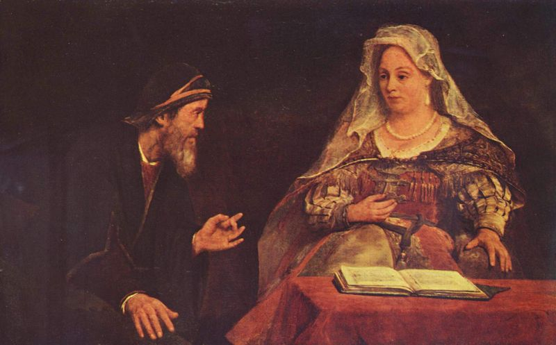 Megillat Esther tells the story of Esther and her relative Mordechai.