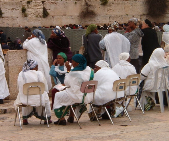 Beta Israel Women at the Kotel