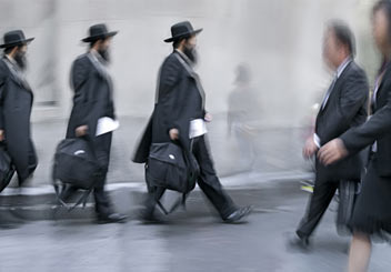 hasidic men anthrpological study