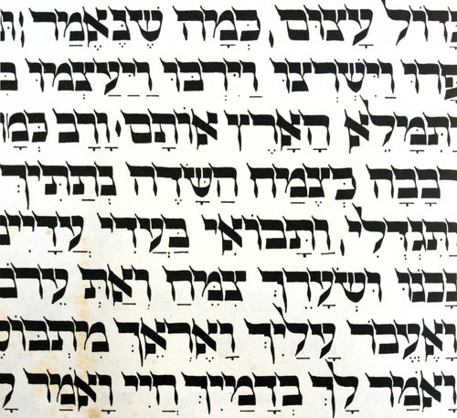 Hebrew Typography My Jewish Learning