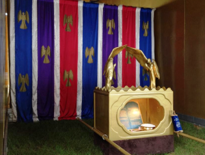 The tabernacle's Holy of Holies.