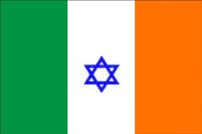 Jews of Ireland Flag