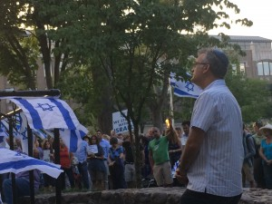 Morris County NJ Israel Rally, August 7, 2014