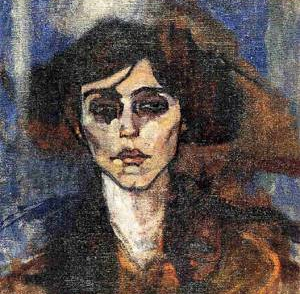 amedeo modigliani portrait of maude abrantes