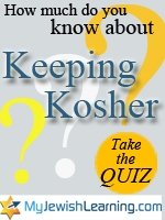 keeping kosher