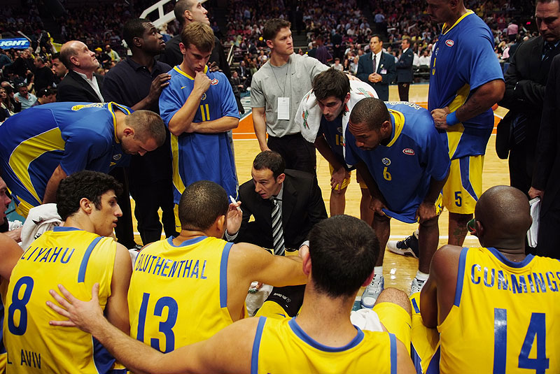 Maccabi Tel Aviv Plays the Knicks.