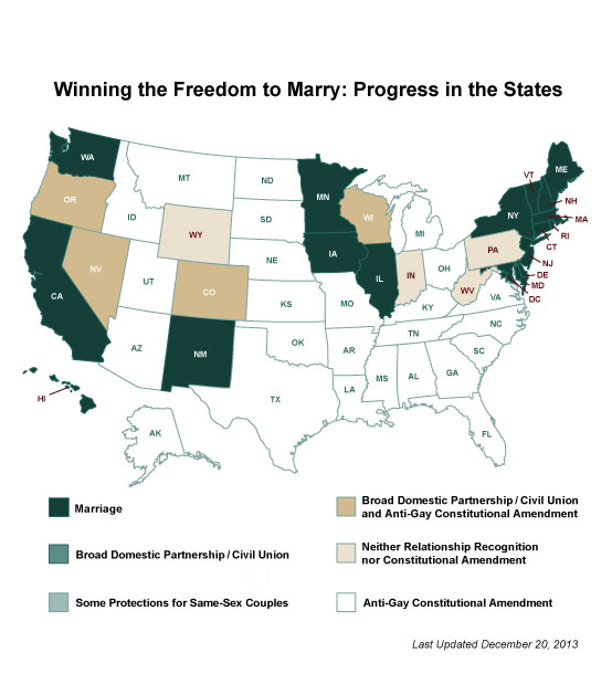 2013: A Year of Marriage Equality | My Jewish Learning