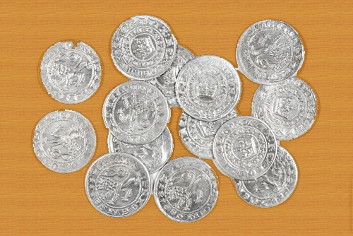 Medieval coins.