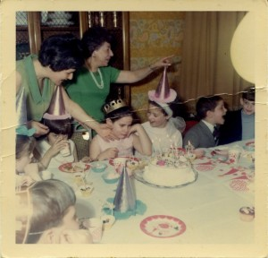 my 8th birthday party