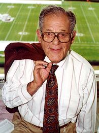 Jack Cristil, wrapped as always in Maroon & White