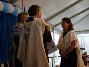 Rabbi Rachel Isaacs at ordination