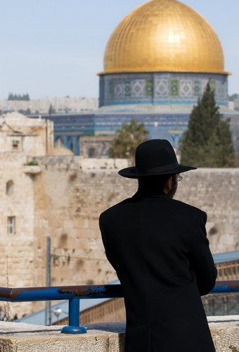 Religious Jew in Jerusalem