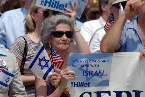 proud zionist woman