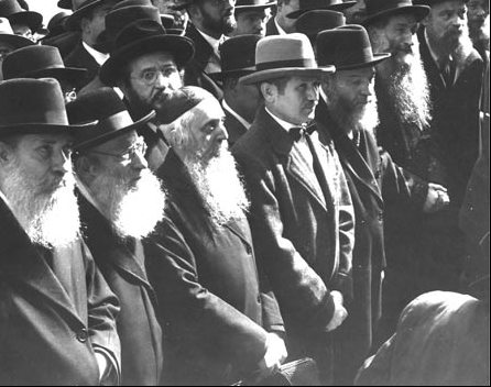 rabbis assembled