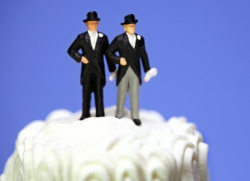 Same Sex Wedding Cake