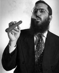 Shmuley Boteach, the pimp daddy of Hasidic Judaism