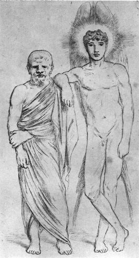 Socrates and His Agathodaemon