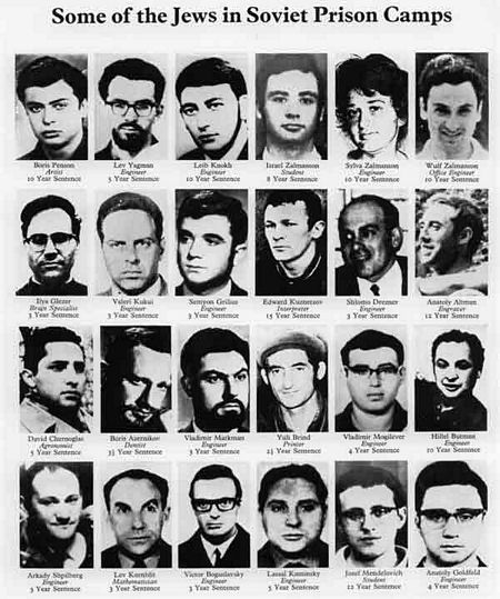 Soviet Jews in Prison Camps