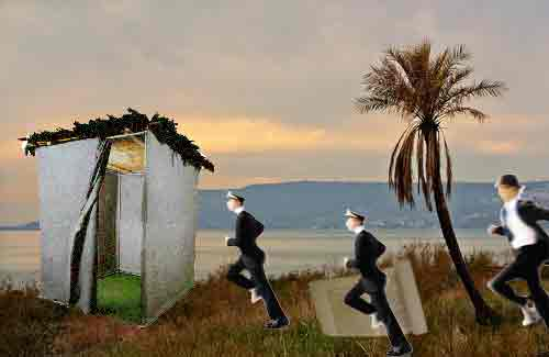 sukkot on the run