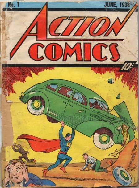 superman, action comics #1
